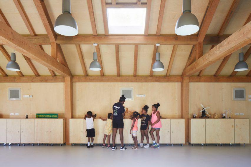 Timber community centre