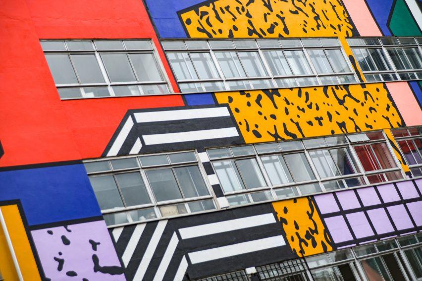 Walala unveils Belleville artwork at London's Rich Mix