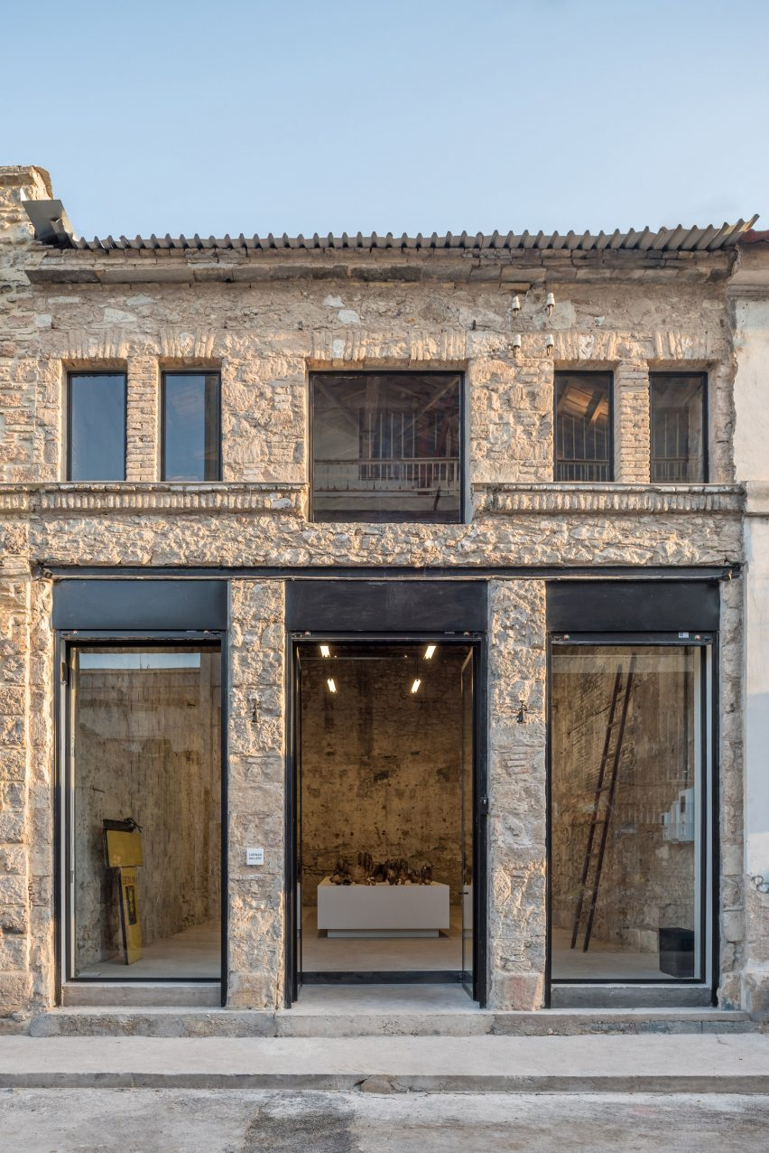 Carwan Gallery in Athens