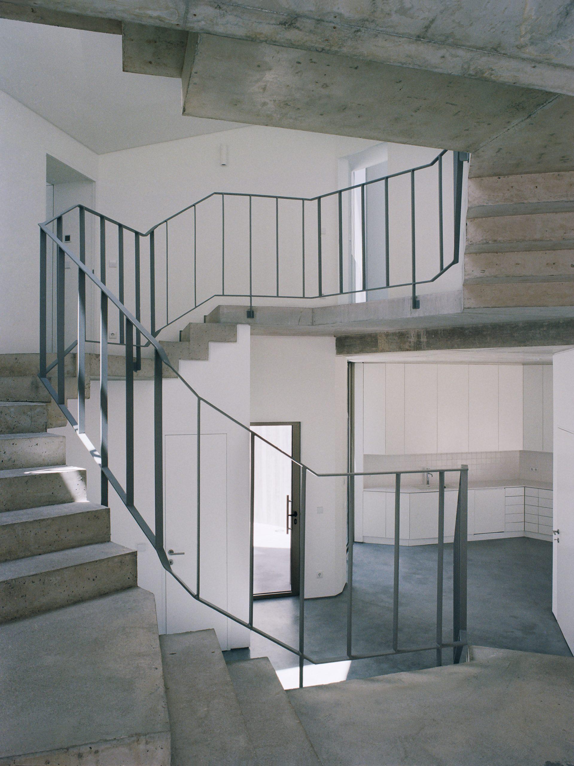 Interior of Trefoil House