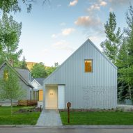 CCY Architects adds extension with musical facade to Victorian house in Aspen
