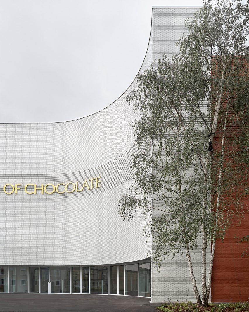 Lindt Home of Chocolate by Christ & Gantenbein facade
