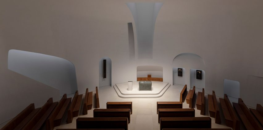 The Church of Pope John Paul II in Páty, Hungary, by Robert Gutowski Architects