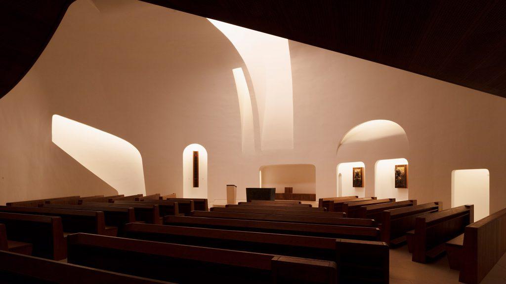 Robert Gutowski Architects designs minimal church interior in response to changes in modern worship