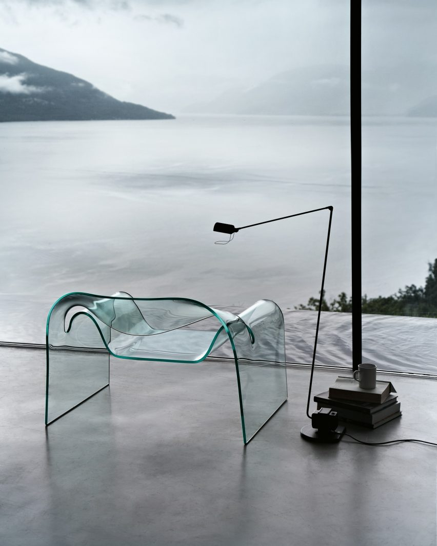 Cini Boeri's Ghost chair for Fiam