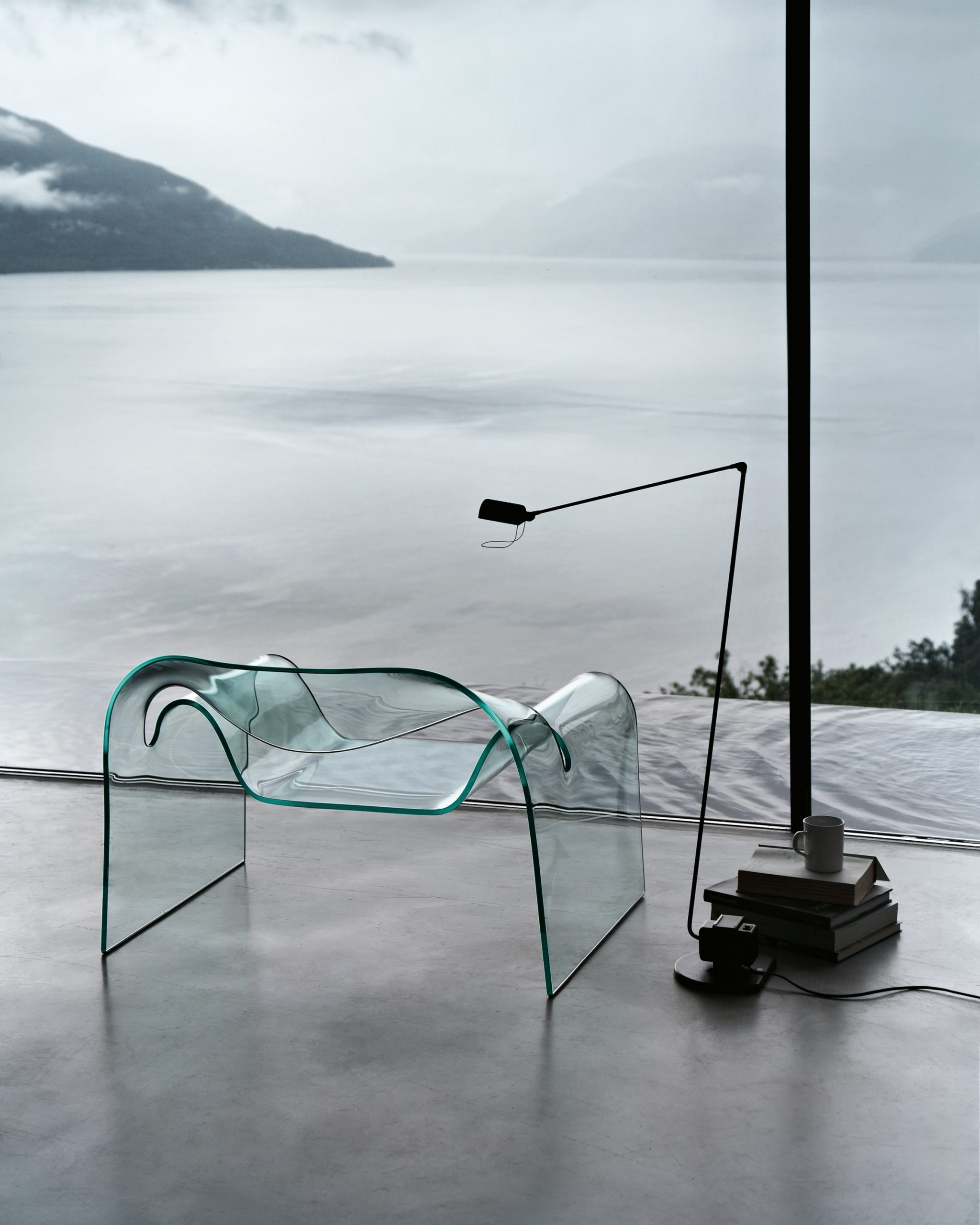Cini Boeri's Ghost chair for Fiam