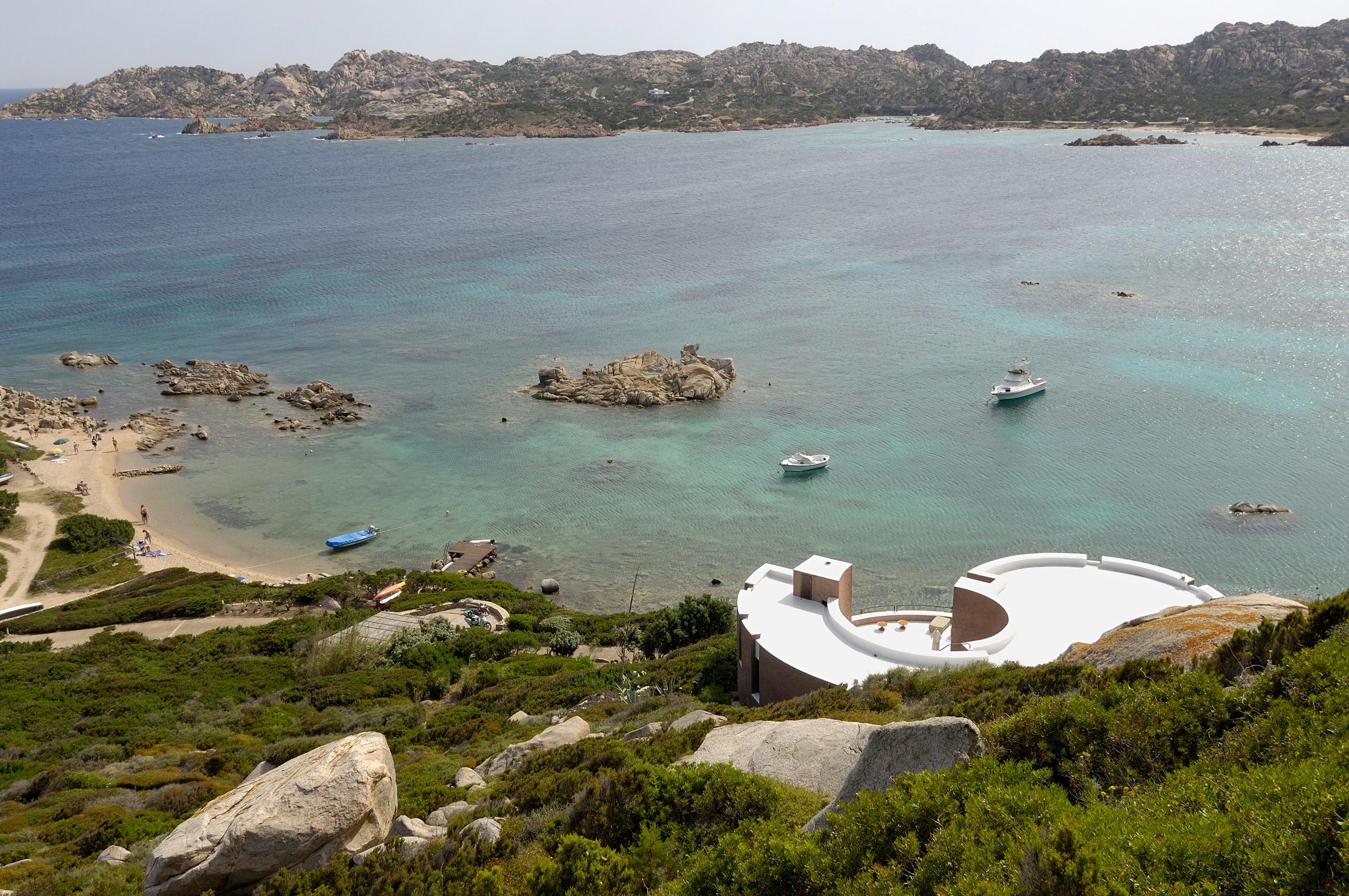 Villa Rotunda in Sardinia