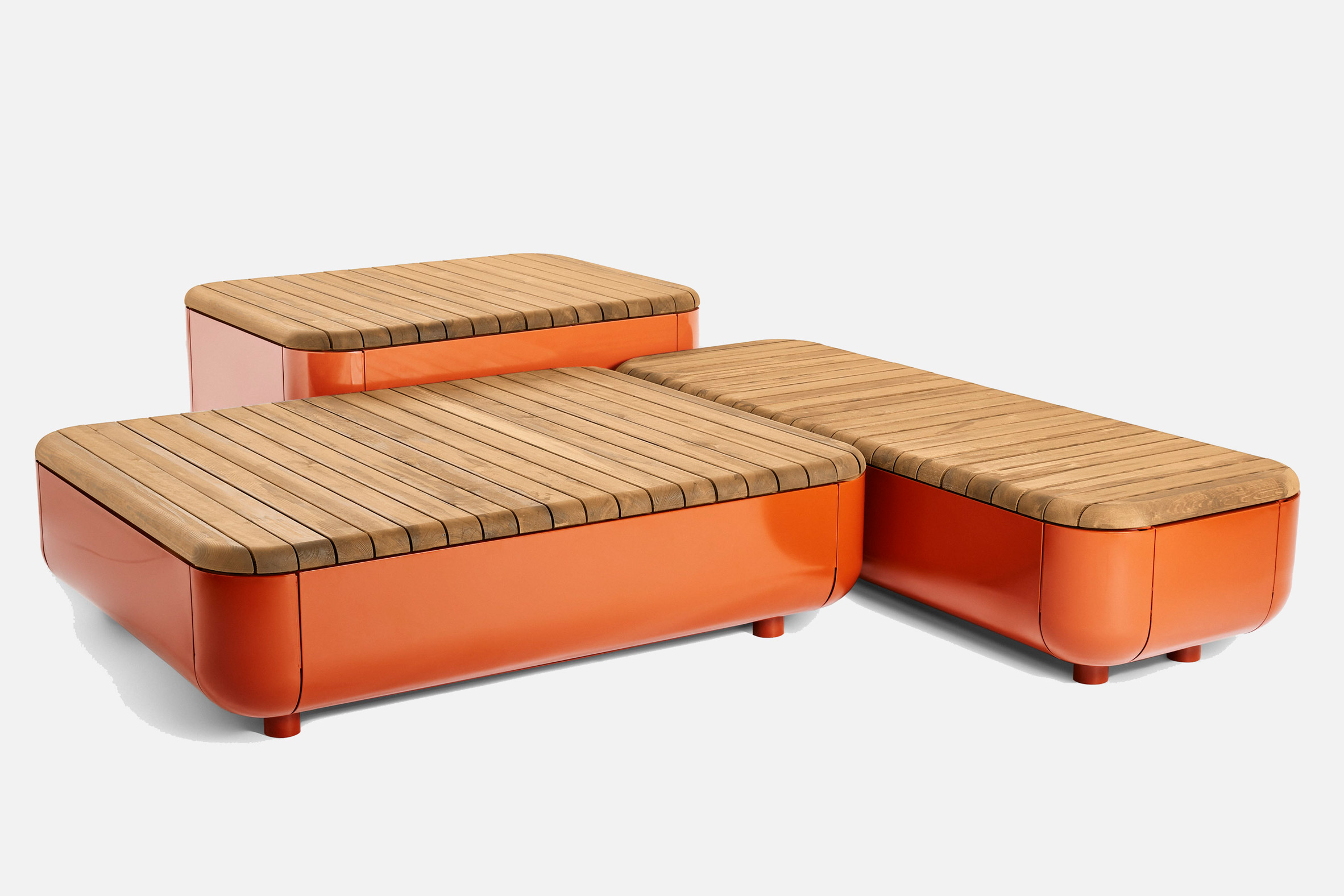 The Stones modular bench system