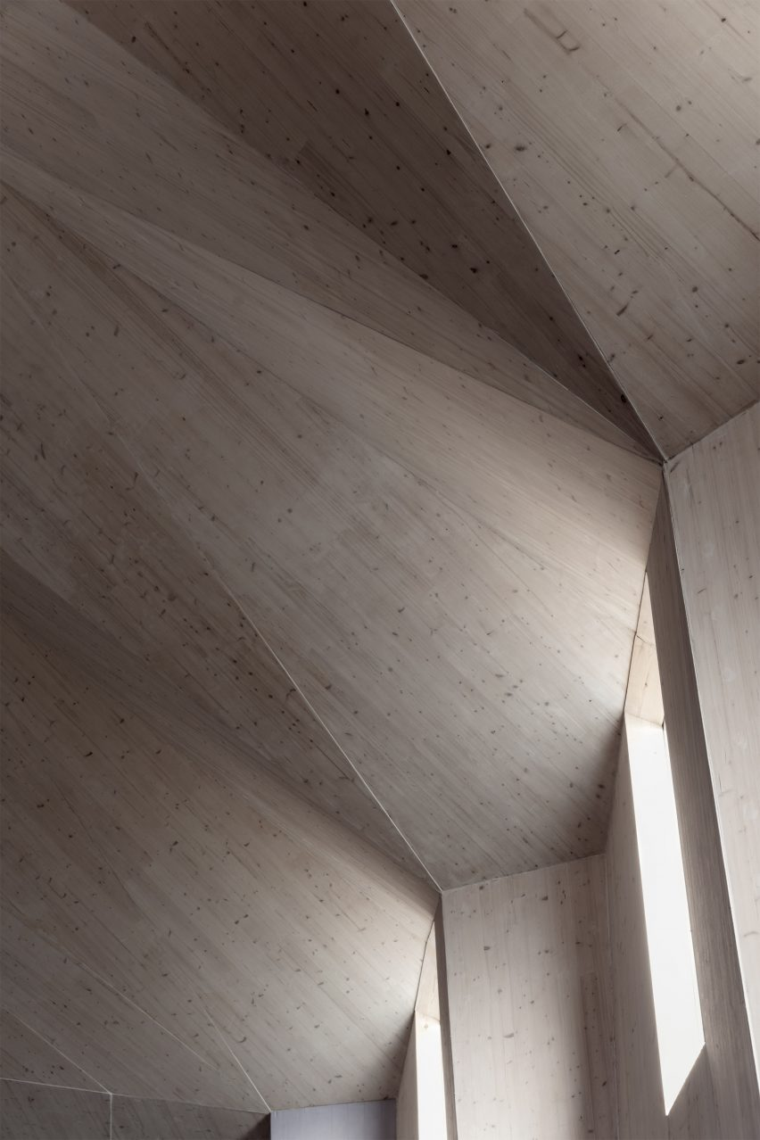 Church by Nicolas Pople Architects in Stroud