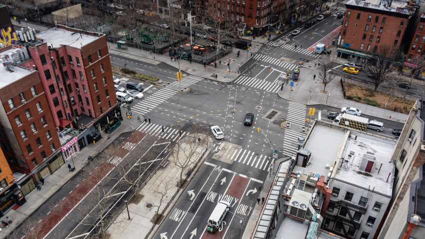 Intersection in New York City