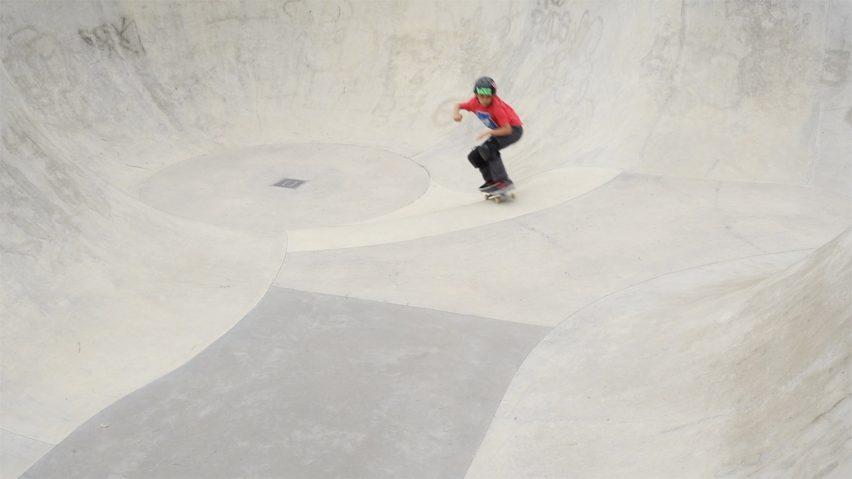 Crystal Palace Skatepark in London