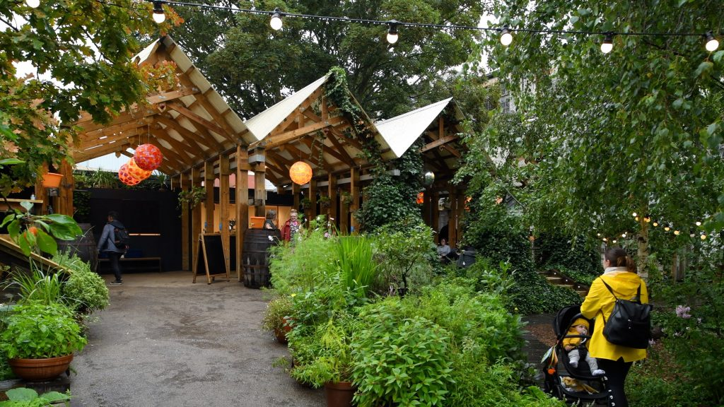 Dalston Curve Garden is an urban oasis on Hackney's disused railway