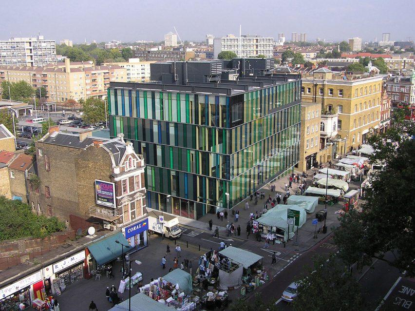 London's Idea store was an early Adjaye project