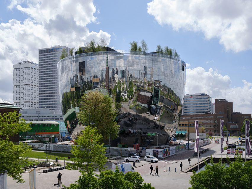 Depot Boijmans Van Beuningen by MVRDV in Rotterdam's Museumpark