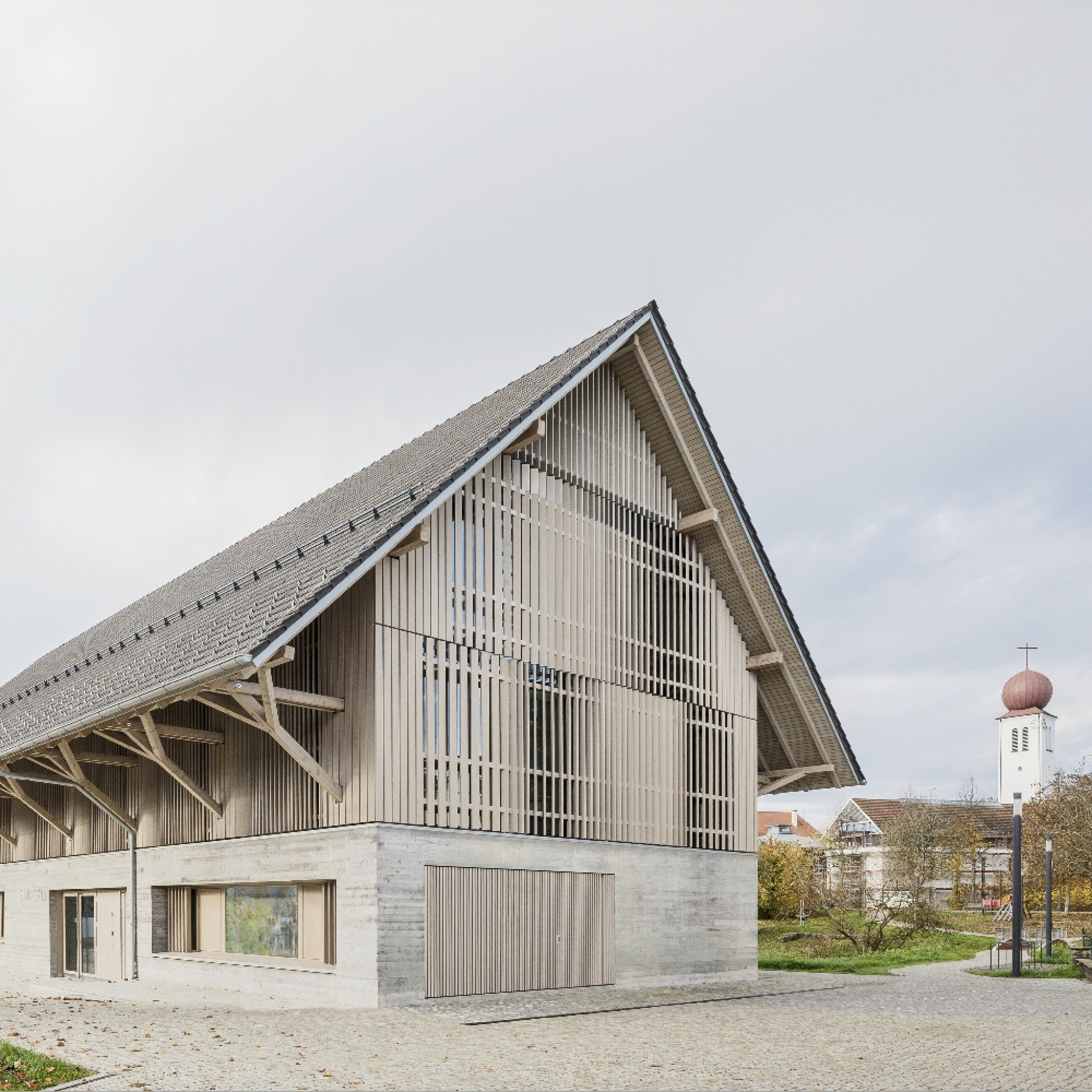 Library Kressbronn in Kressbronn am Bodensee, Germany, by Steimle Architekten