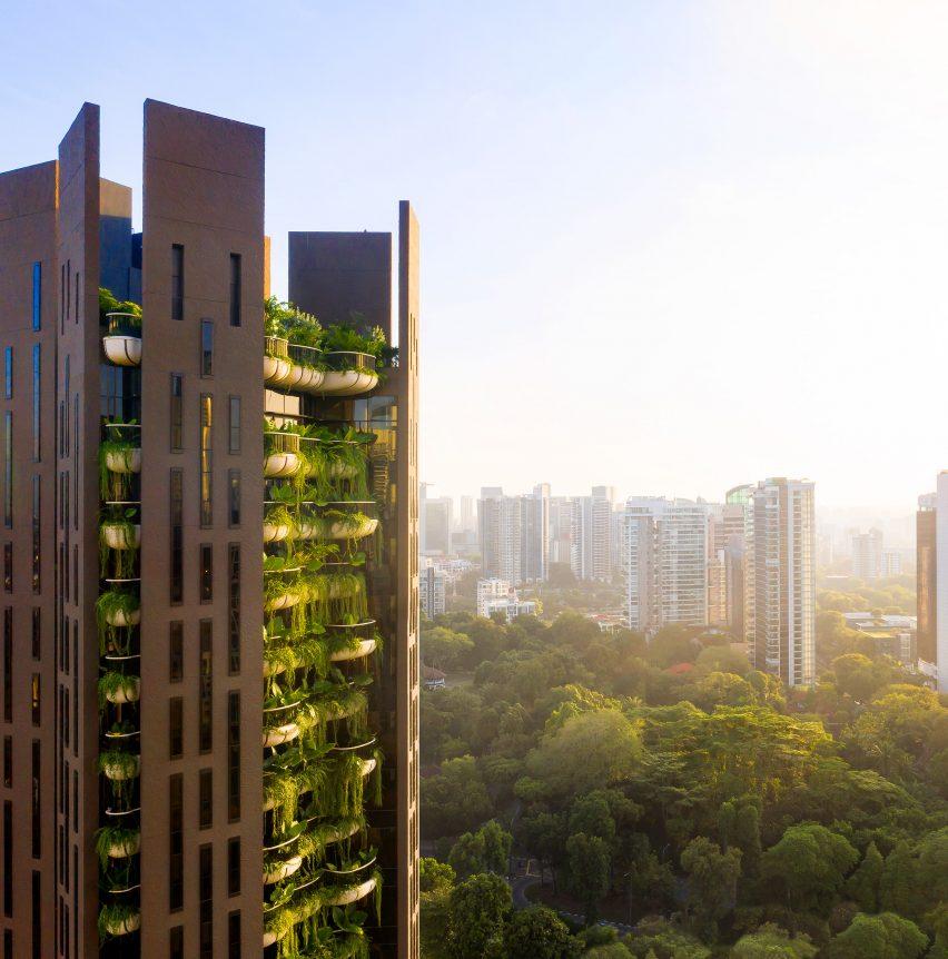 Singapore skyline from EDEN