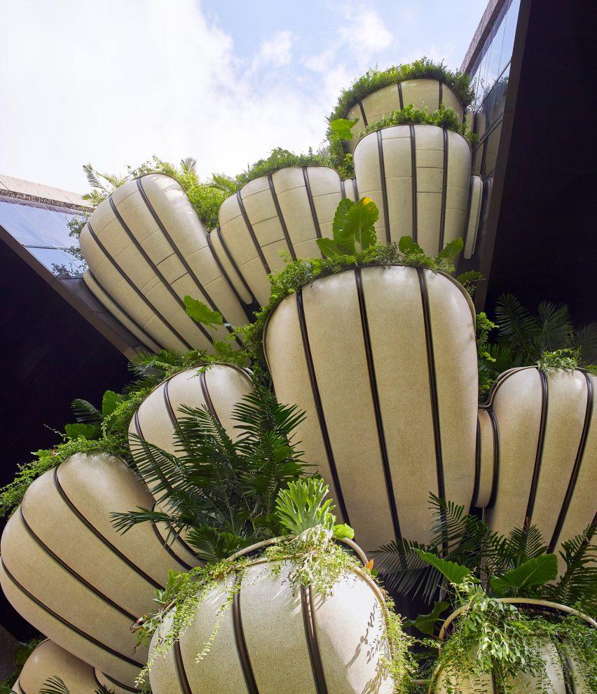 Balconies in Singapore by Heatherwick Studio