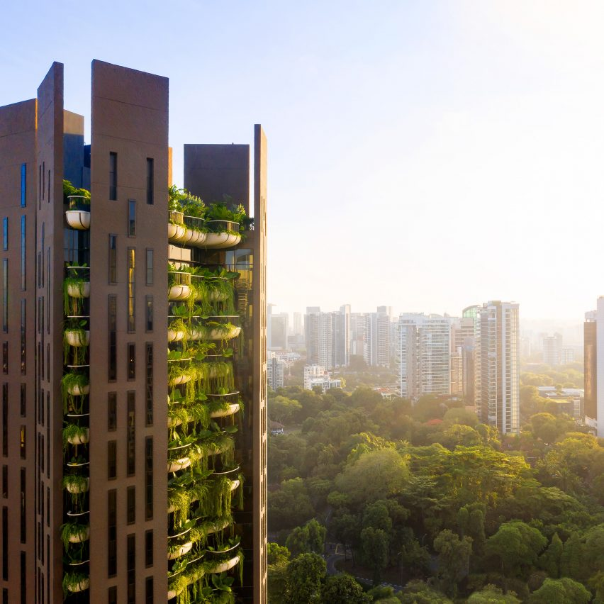 EDEN skyscraper in Singapore by Heatherwick Studio