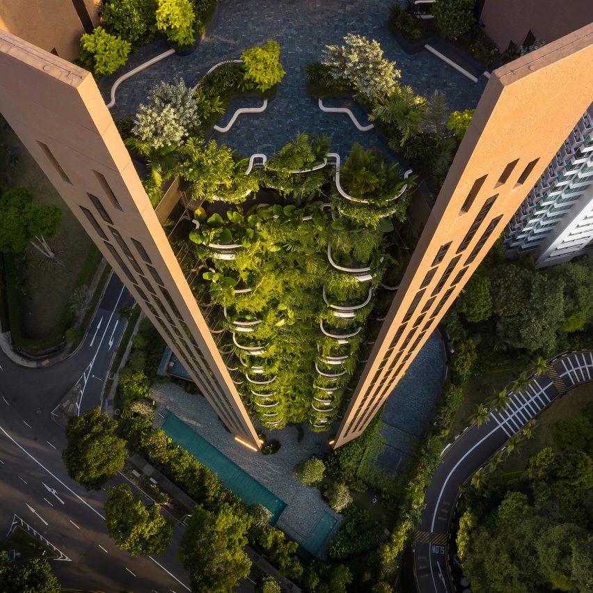 EDEN tower by Heatherwick Studio