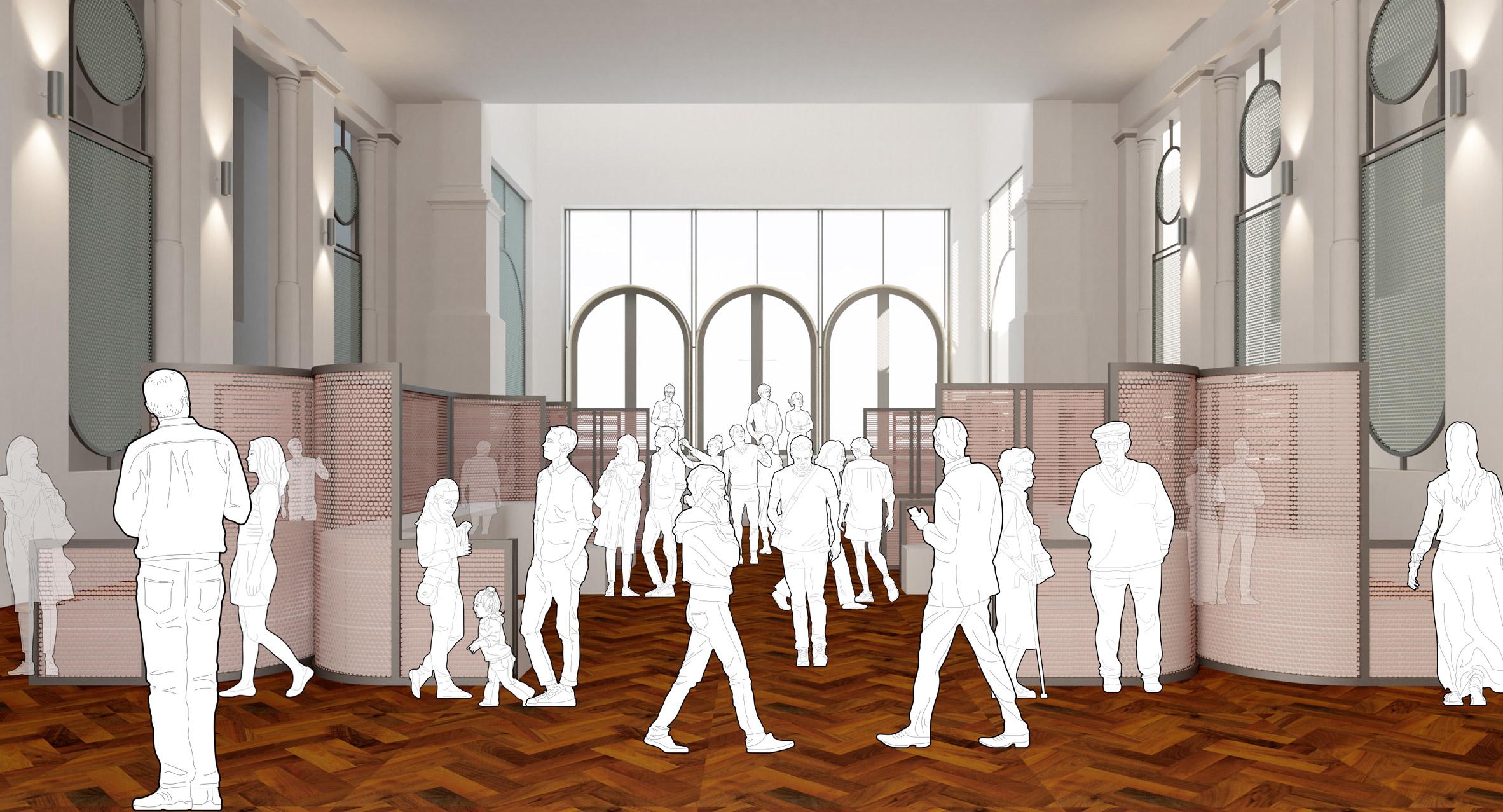 ECA's interior design students imagine cultural centres for Edinburgh