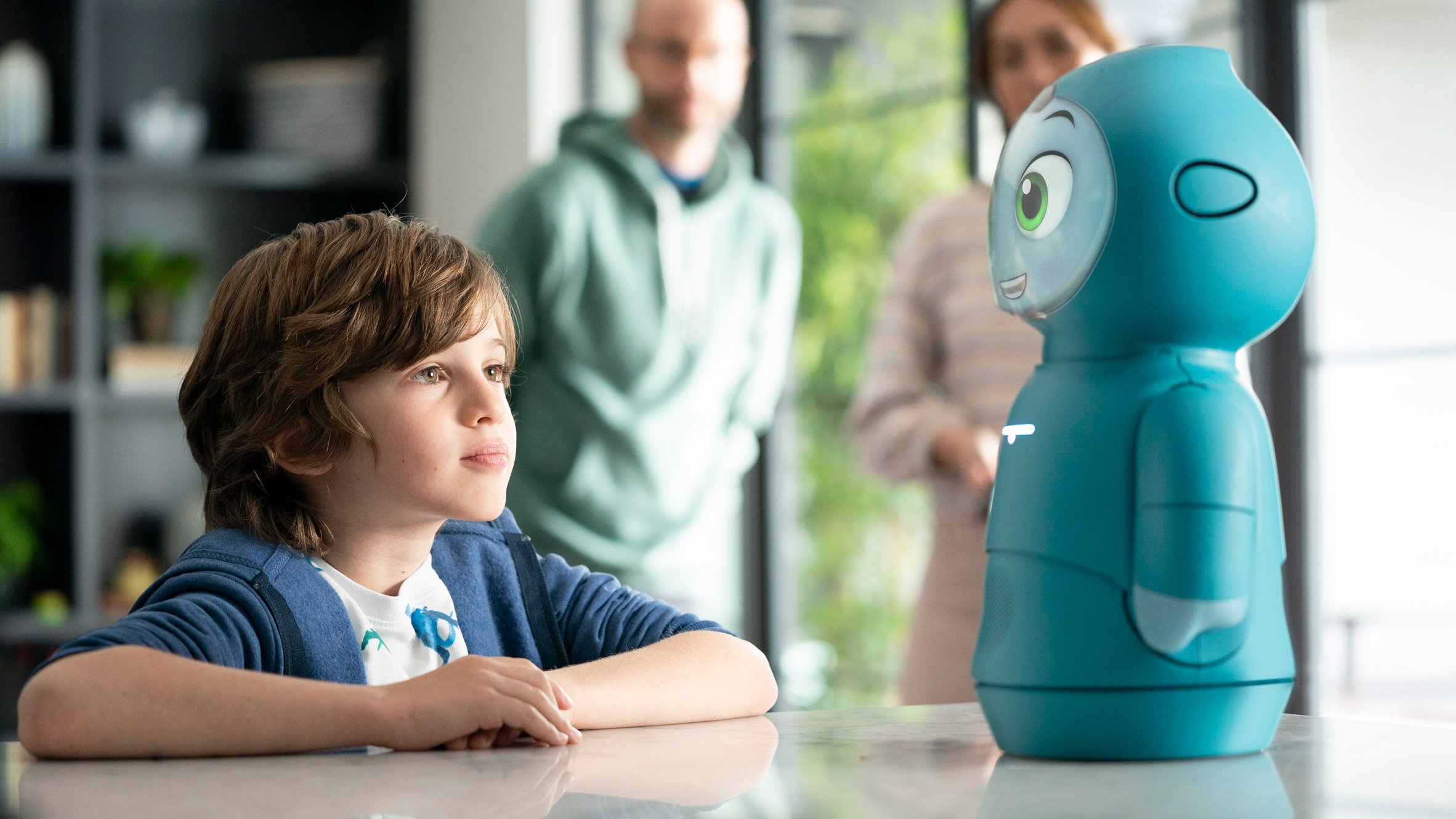 Moxie smart robot for teaching children by Embodied