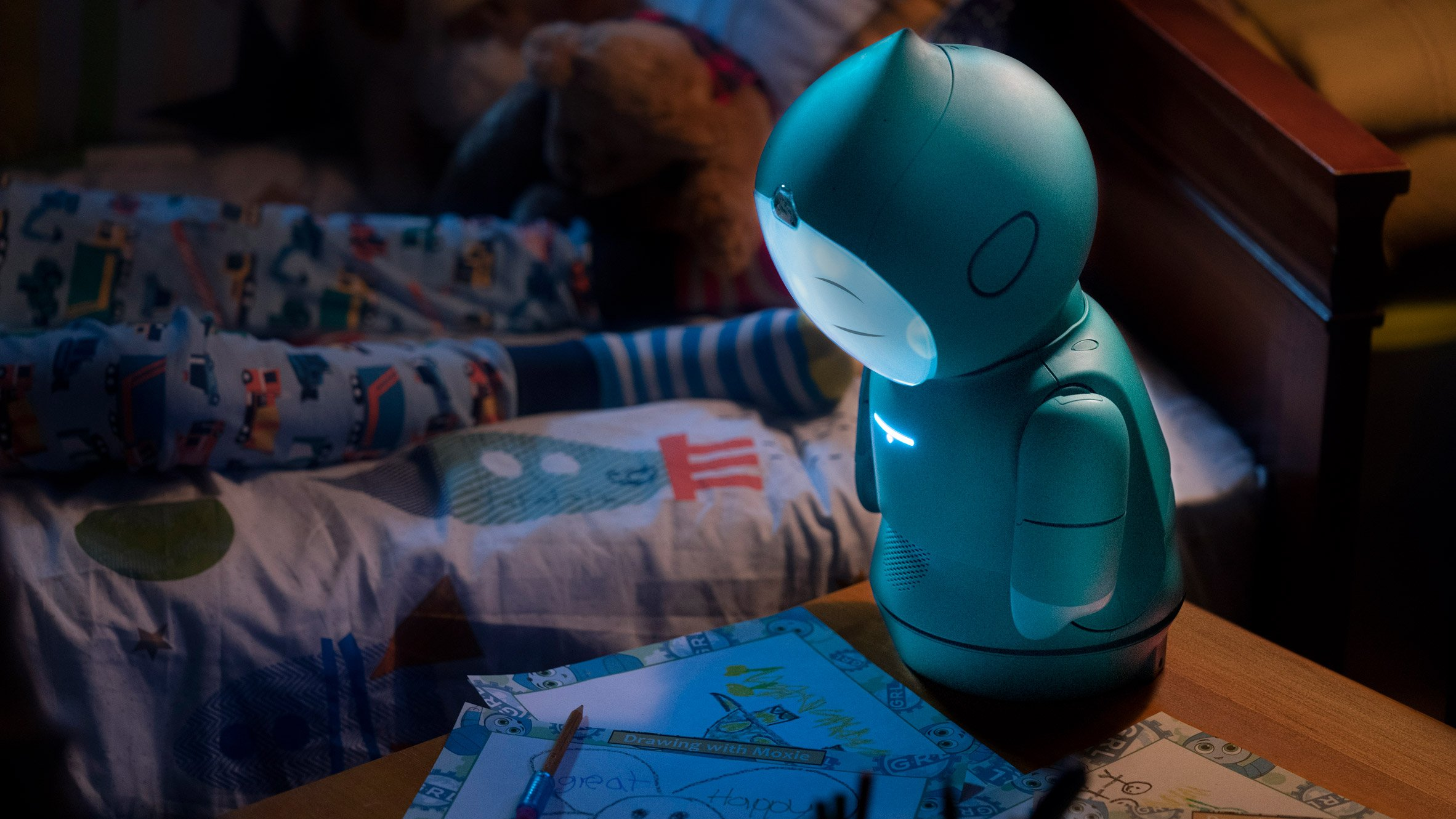 Embodied has designed a robot companion for children called Moxie