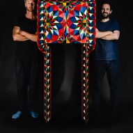The designers with the Talleo tallboy wardrobe