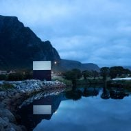 Rever & Drage marks Norwegian Scenic Routes stop with triangular toilet