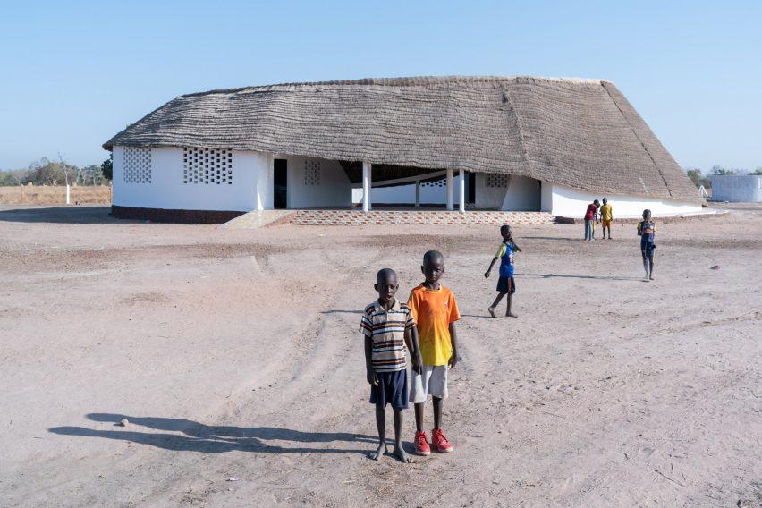 Circular school in Senegal by Toshiko Mori Architect
