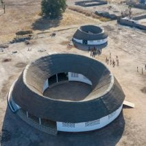 Circular school in Senegal by Toshiko Mori Architect