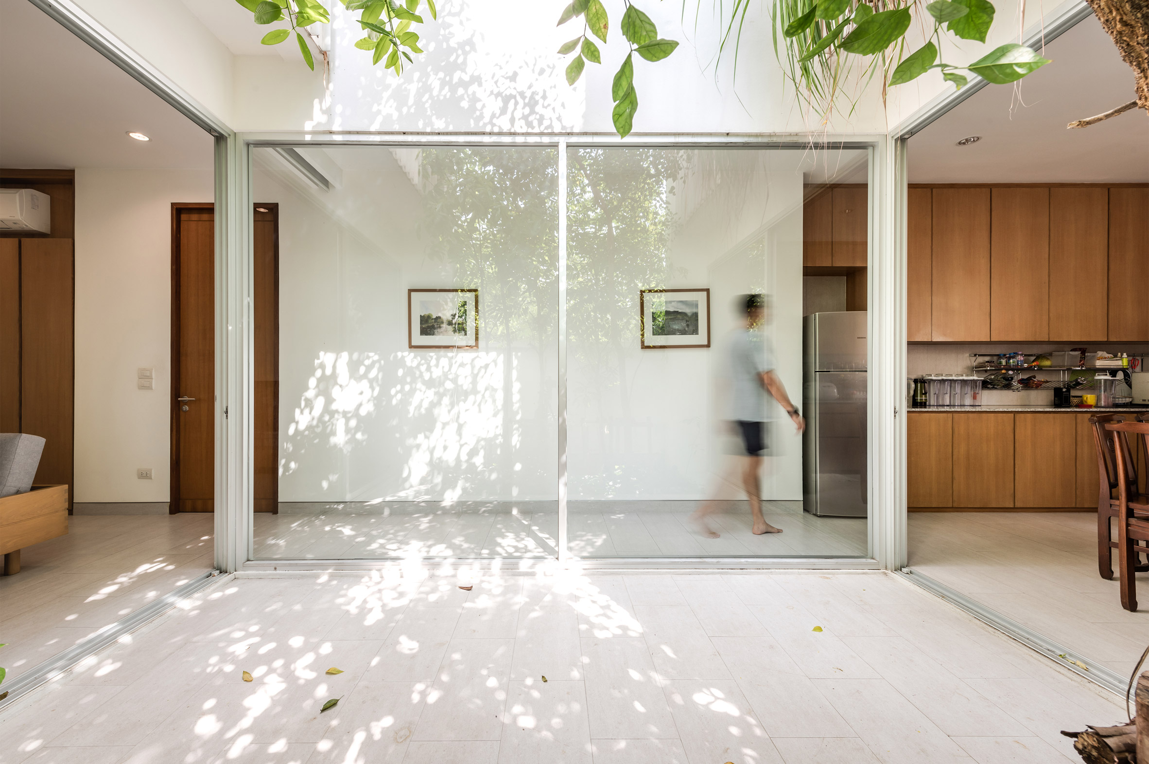 Courtyard of the Forest House in Bangkok