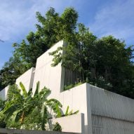 Shma Company designs Bangkok home for family and forest of 120 trees
