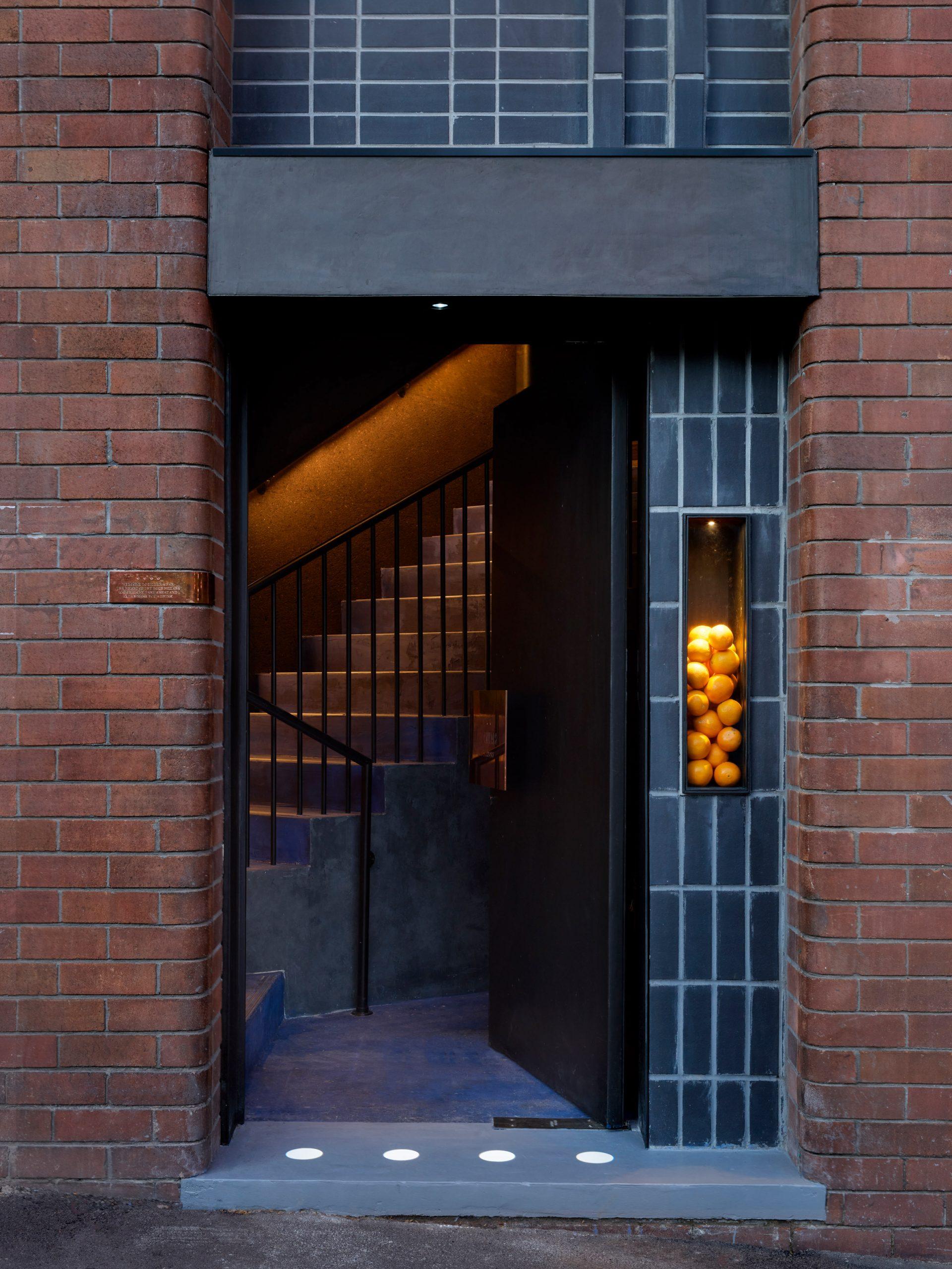 Bar inside Four Pillars Laboratory has a secret entrance