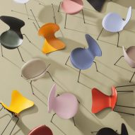 Fritz Hansen launches Arne Jacobsen chairs in 16 new colours