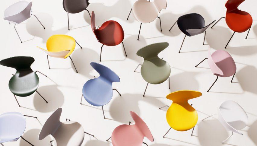 Fritz Hansen Colours collection at 3 days of design copenhagen