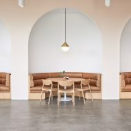 Rapt Studio fashions soothing interiors for Goop HQ in Santa Monica