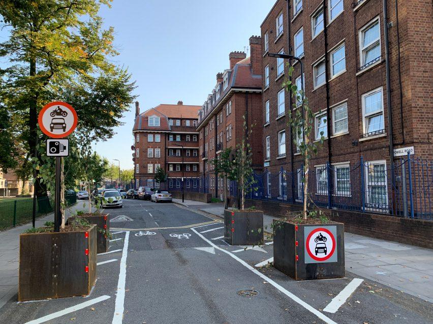 The Powell Road low traffic neighbourhood in Hackney