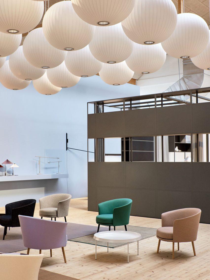Hay's showroom at 3 Days of Design in Copenhagen