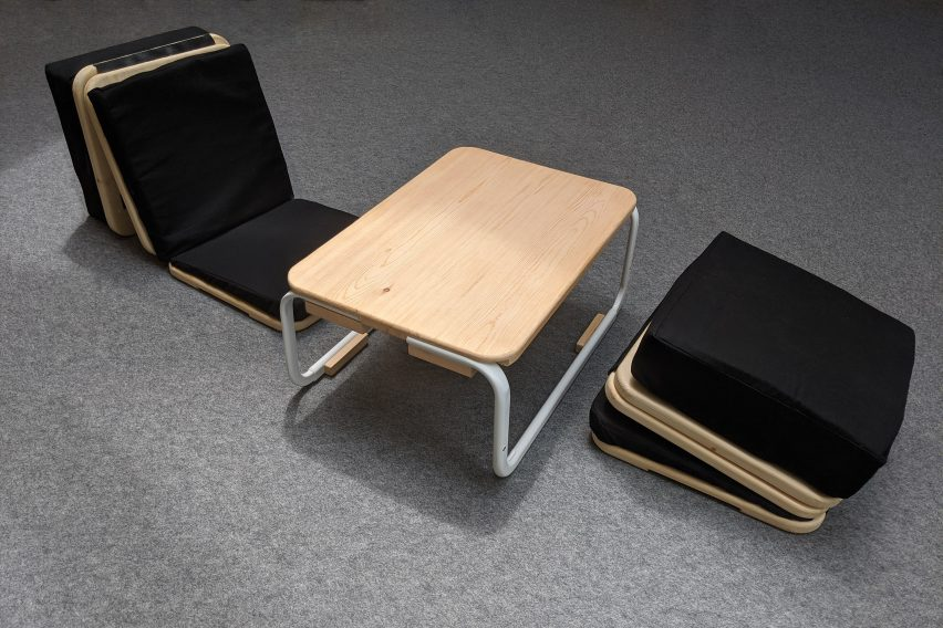 Comfor:t:able by Mathis Buchbinder for PolyU Design school show