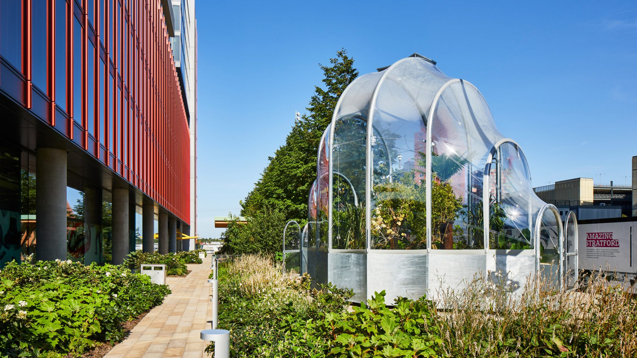 Hothouse by Studio Weave at London Design Festival