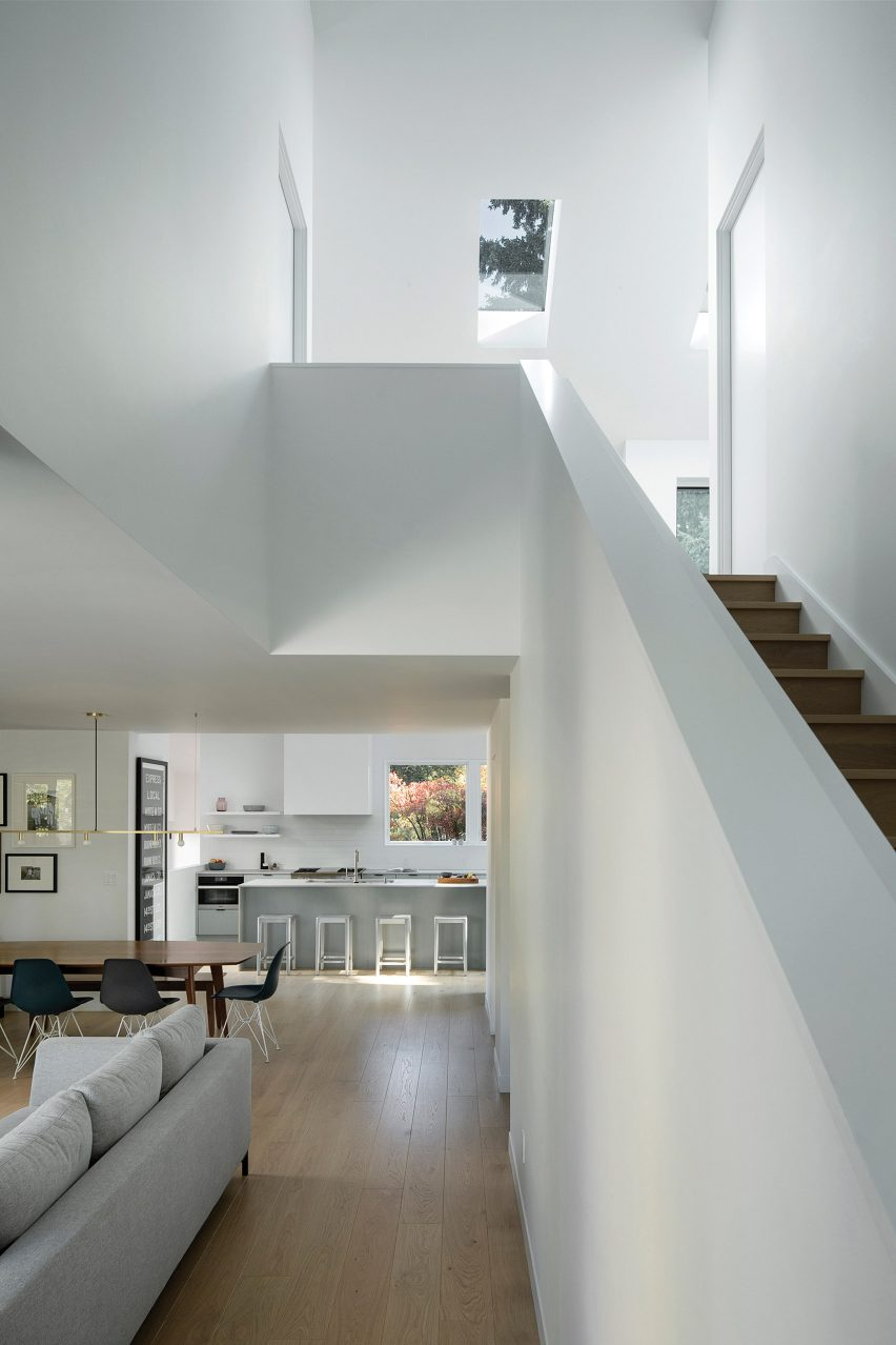 Living room of House on 36th by Beebe Skidmore in Portland, USA