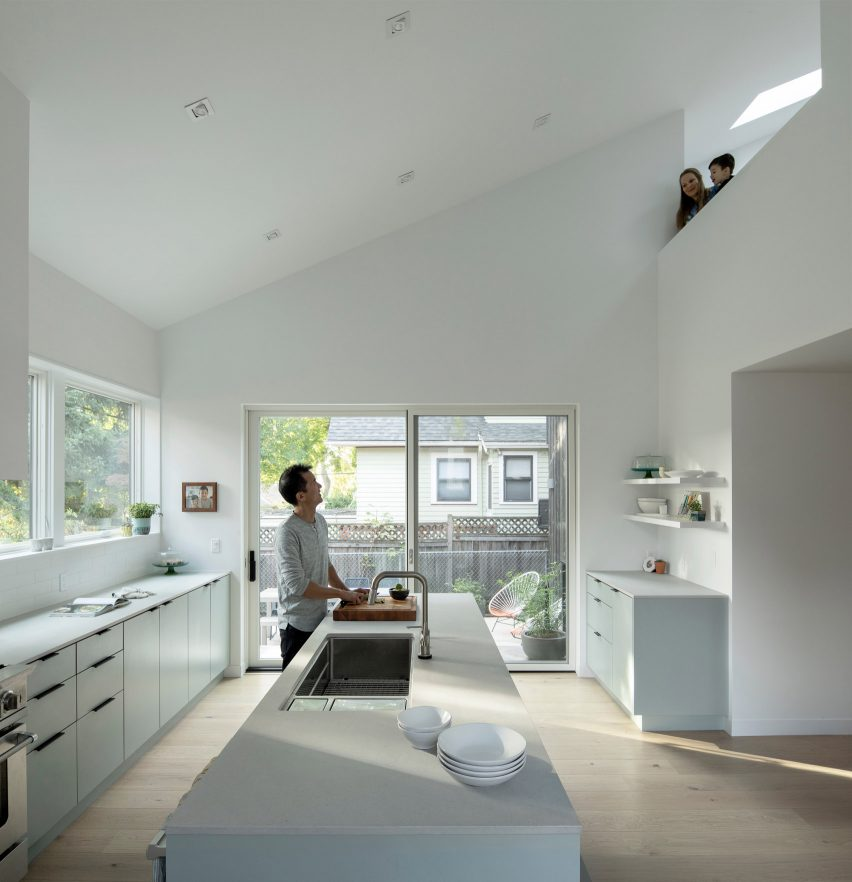Kitchen of House on 36th by Beebe Skidmore in Portland, USA