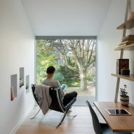 Bedroom of House on 36th by Beebe Skidmore in Portland, USA