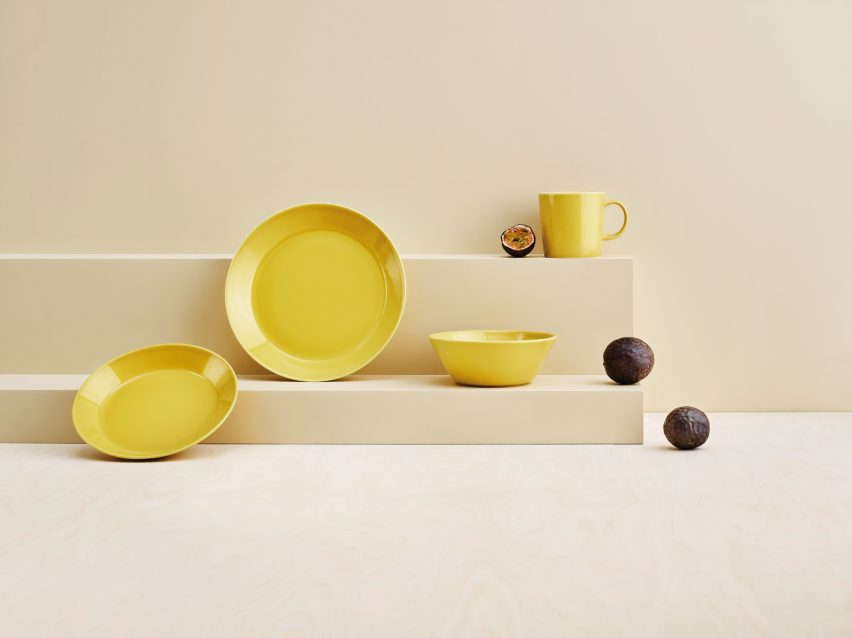 Teema Honey from Iittala for Dezeen x Planted