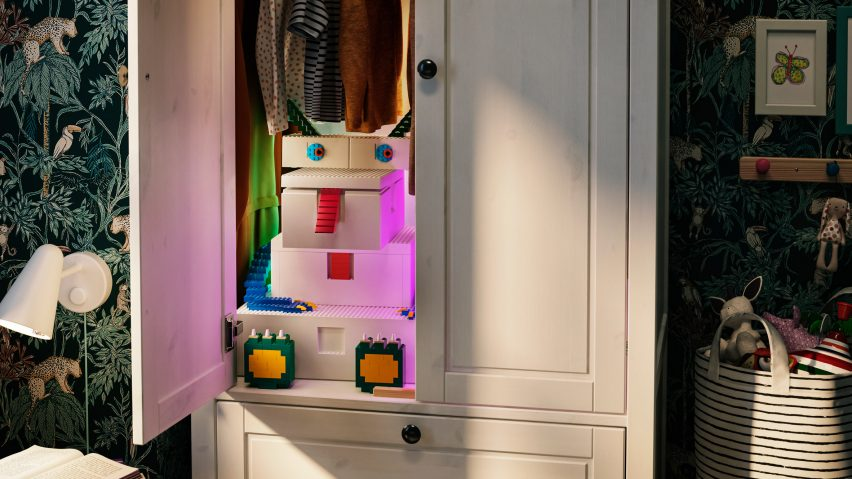 IKEA and Lego release Bygglek storage boxes that double as toys