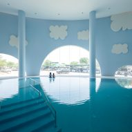 Integrated Field decorates children's hospital in Thailand with slides and a pool