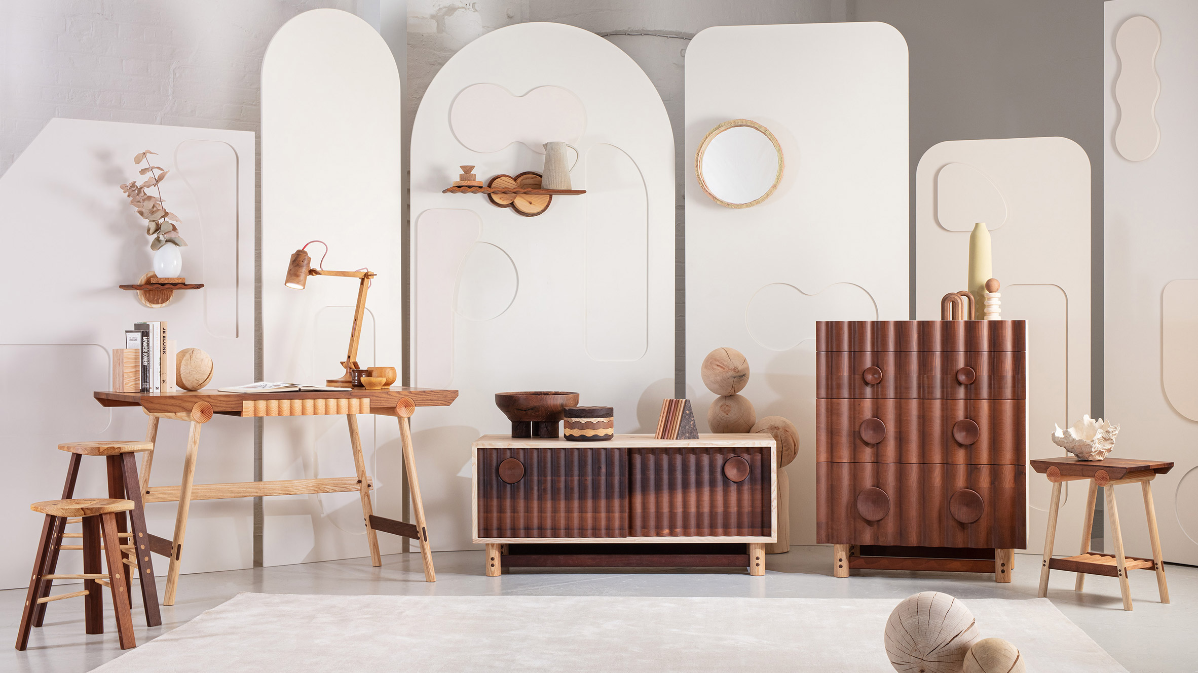 Jan Hendzel Studio's Bowater collection made using British hardwood