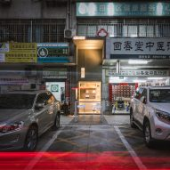 Onexn Architects squeezes Shenzhen micro cafe into gap narrower than a parking space
