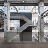 "Old nylon factory converted into ""cathedral-like"" office space"