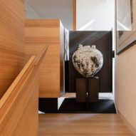 Art displayed in Kew Residence by John Wardle Architects in Melbourne, Australia